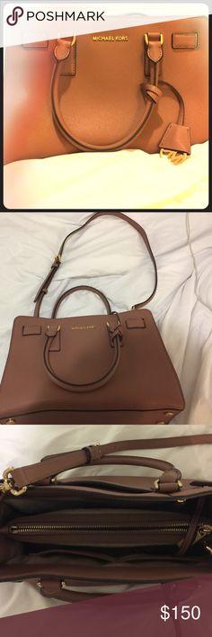Michael Kors purse Brown, leather, medium size Bags Shoulder Bags