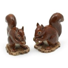 Squirrel Salt & Pepper  Squirrels - the bain of Dave's existence!