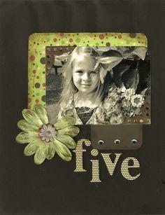 Five Years Old - Scrapjazz.com