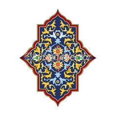 BlueMirror  Middle Eastern Motif by AlibabaVector on Etsy, zł8.00