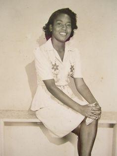 Stylish Portrait of Youth Great 1940's Vintage Snapshot by Lovalon,