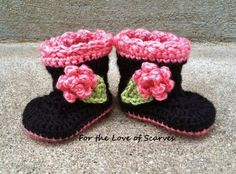 Darling Crochet Baby BOOTies