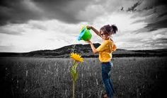Selective Color with Gradient Map in Photoshop