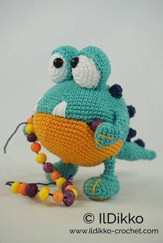 Amigurumi Crochet Pattern Buster the Monster English
