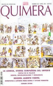 QUIMERA : REVISTA DE LITERATURA