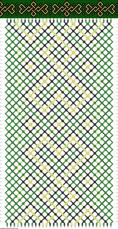 Celtic Friendship Bracelet Pattern