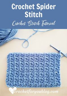 Crochet Ideas Easy Crochet Spider Stitch Tutorial - Learning new crochet stitch is like a turning new page of the book of your crochet life. In this chapter, we are going to learn how to crochet spider stitch. Crochet Crafts, Crochet Projects, Free Crochet, Crochet Ideas, Crochet Santa, Ravelry Crochet, Crochet Birds, Crochet Food, Crochet Mandala