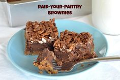 raid your pantry brownies