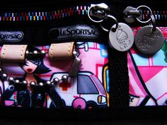 Tokidoki: I have this particular city scene in the form of a clutch.