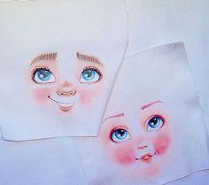 cara de muñeca textil