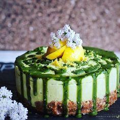 Avocado Matcha Cake