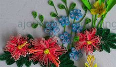 Quilling Tutorials - Comb Quilled Flowers