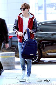 Lee Min Ho - Airport Fashion (150408)