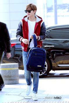 Lee Min Ho | Incheon Airport 150408