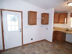 nice layout for a laundry room make over in a mobile home