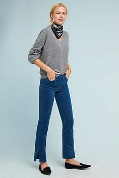 09a4c7b93dea M.i.h Daily High-Rise Velvet Straight Jeans. AnthropologieAnthropologie  OutletAnthropology