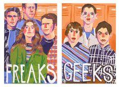 Resultado de imagem para fan art freaks and geeks