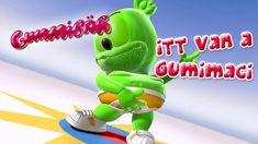 Itt Van A Gumimaci is the long Hungarian version of I Am A Gummy Bear (The Gummy Bear Song) by Gummibär aka Osito Gominola, Ursinho Gummy, Gumimaci, Funny Be. Gummy Bear Song, Bear Songs, Cartoon Songs, Bears Game, Funny Bears, Music Publishing, Cool Watches, Youtube, Youtubers