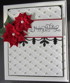 Orange Fizz | Print Blocks Official Blog: Couture Creations Tied Together Embossing Folder