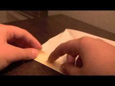 how to make an origami starfish EASY part 1 - YouTube
