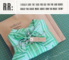 Get Inspired. Reader Request: Etsy Shop Packaging from Here's Looking at Me Kid