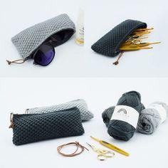 Heklet Lommebok - Opskrift (Hobbii). En nydelig heklet liten lommebok i et vakkert og simpelt mønster.