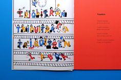 'Con el Ojo de la i' Interactive children book. on Behance