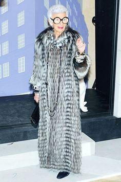 Bergdorf Goodman Celebrates 111 Years - Iris Apfel