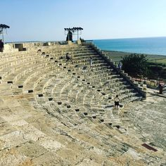 A Roman theater surrounded by a number of villas. The reconstructed theater was unfortunately the most interesting part for the layperson #history #oldstones #roadtrip Roman Theatre, Limassol, Early Christian, Old Stone, Archaeological Site, 14th Century, Cyprus, Monument Valley, Road Trip