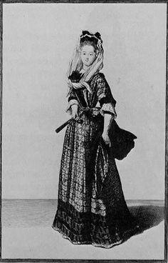 Lady, 1687. French 1687.jpg (384×600)