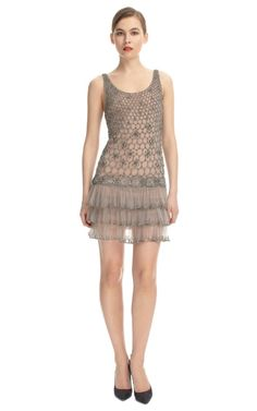 Alberta Ferretti Embroidered Flapper Dress, so beautiful and ethereal...and expennnsive