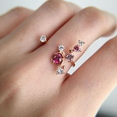Carat Tourmaline Engagement Ring The Effective Pictures We Offer You About beautiful jewelry wir Cute Jewelry, Jewelry Box, Jewelry Rings, Jewelry Accessories, Jewellery, Jewelry Ideas, Bijoux Design, Schmuck Design, Jewelry Design