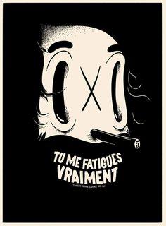 fusshop:  (via Matthieu Bessudo, llustrator)  - I Love Ugly