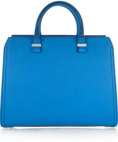 Victoria Beckham - Blue Victoria Leather Tote - Lyst 6fd3f353c1d6c
