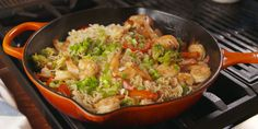This Garlic Shrimp Ramen Is Way Better Than Take Out - via Delish Shrimp Recipes Easy, Ramen Recipes, Fish Recipes, Seafood Recipes, Asian Recipes, Cooking Recipes, Healthy Recipes, Cheap Recipes, Cooking Pork