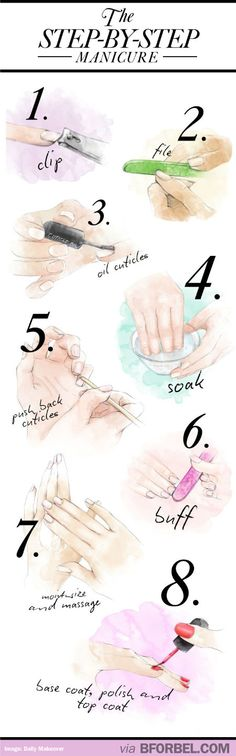 Home Manicure In 8 Steps…