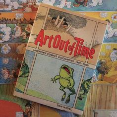 This book presents a sampling of overlooked fantastic and fantastical comics harvested from small town papers, yellowing zines, and short-lived strips. Like many other types of first-attempts, there is still much to be learned from these odd pioneers. – Kevin Kelly