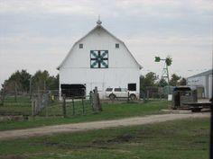 """Country Roads"" Barn Quilt – rural Churdan, IA"