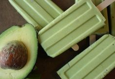 Avocado and Lime Tequila Popsicles