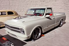 Photos of a show truck 1967 Chevy at the 2016 SEMA Show.