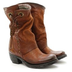 A.S.98 Texan boot Crea14 522209 Oxide Brown as98 Airstep #AS98 #Stivale Sexy Boots, Tall Boots, Ankle Boots, Country Boots, Chelsea, Brown Leather Boots, Dress With Boots, Short Boots, Cowgirl Boots