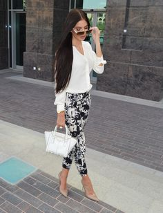 How to Wear Black and White This Spring