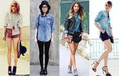 Como Usar: Camisa Jeans   Just Lia