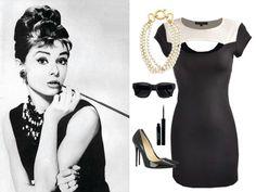 Outfit inspirado en uno de los más icónicos looks de Audrey Hepburn.