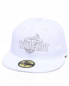 New Era | Miami Heat Nba White Hot 5950 Fitted Hat