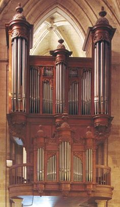 Façade du buffet d'orgue, Corbeil-Essonnes