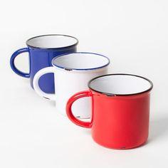 Poketo Faux Tin Ceramic Mug ($1-20)