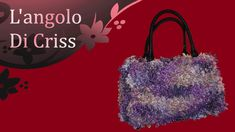 borsa bauletto all'uncinetto - crochet bag trunk -