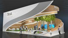 Stand huawei on Behance Web Banner Design, Futuristic City, Futuristic Architecture, Exhibition Stall Design, Outside Bars, Pavilion Design, Organic Architecture, Interior Concept, Restaurant Interior Design