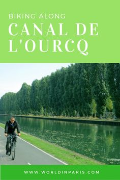 What about a nice ride along one of the Parisian channels? Come and follow us along Canal de l'Ourq :-)